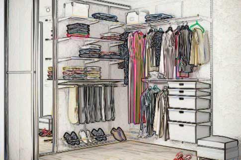 гардеробные на заказ
